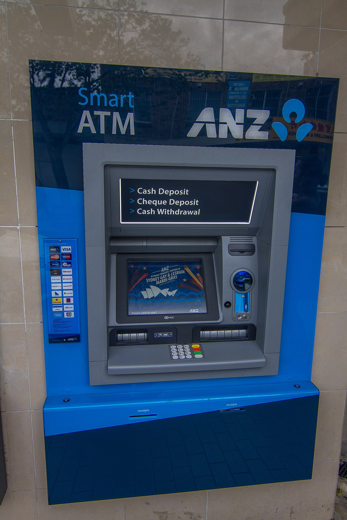 anz atm locations