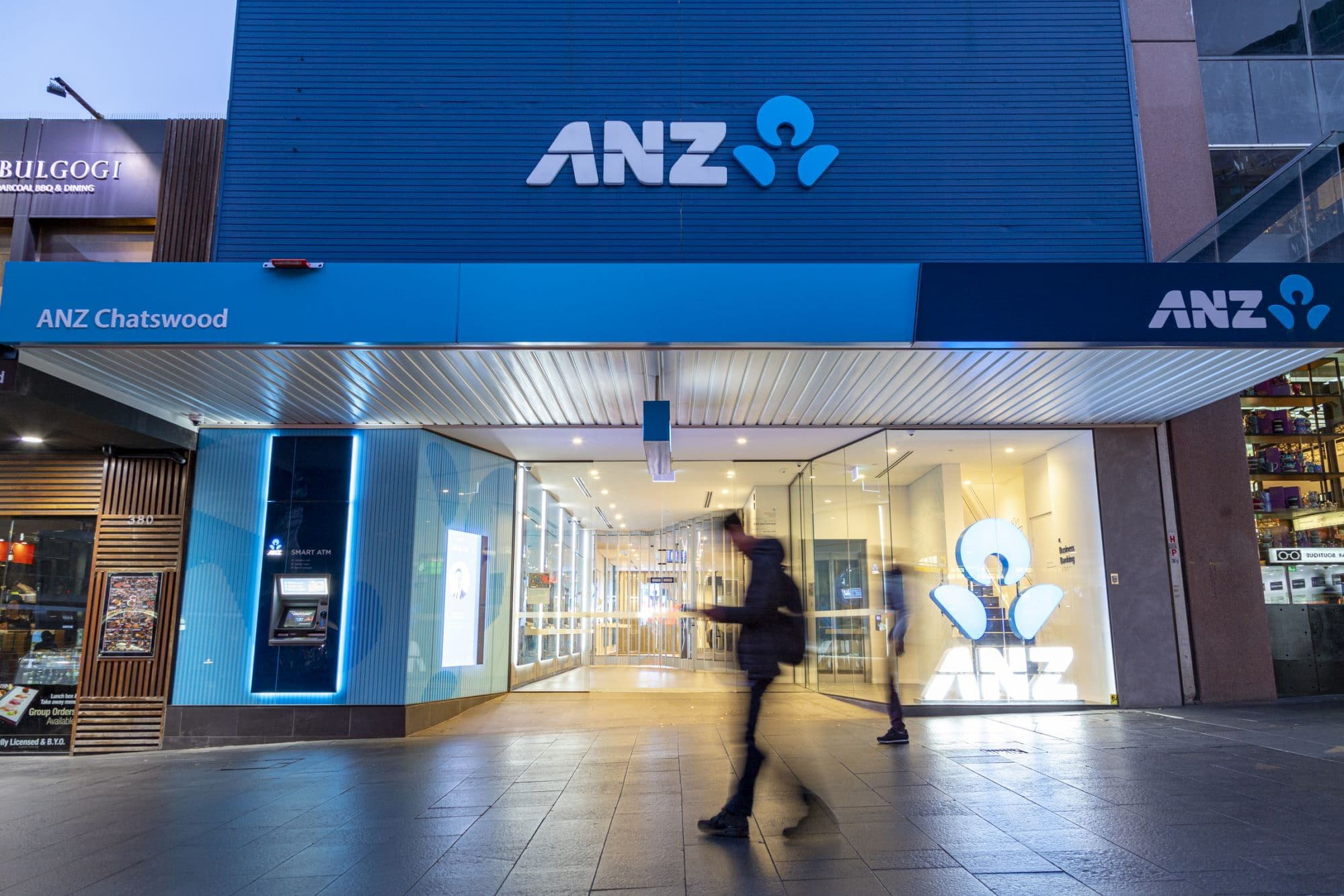 anz branches