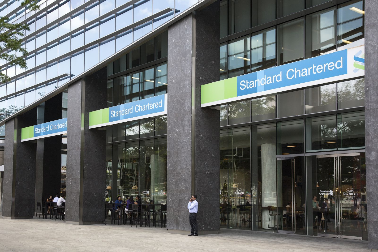 Standard Chartered bank in singapore